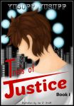 Trails of Justice: Book Cover Contest Entry :) by LoviTheArtistek