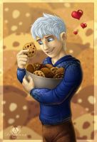 Jack Frost x Cookies by DolphyDolphiana