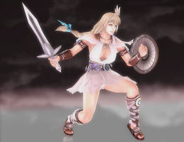 Sophitia Alexandra - Cursed Destiny - 02 by HentaiAhegaoLover