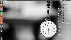 CAI Clock Conky for Ubuntu (1600x900) by CAI79