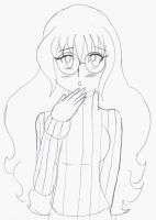 Shly Shocked Stella In a Sweater by Chicken-Yuki