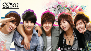 ss501 Wallpaper by MiAmoure