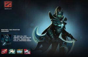 Morted, The Phantom Assassin by DreamScrewer