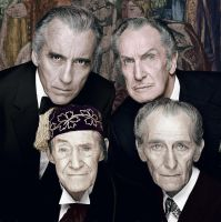 The legends of classic horror cinema - Colorized by OldHank