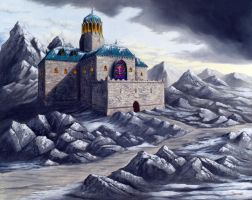 Temple of Kelemvor by Neothera