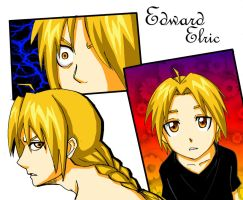 Edward Elric by xCluBearx
