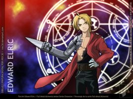 EDWARD ELRIC FAN ART by iroc3d