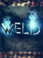 Welding Typography 3d by ROMAgfx