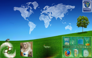 Windows 7 Desktop Theme 7.5 by SeraphSirius