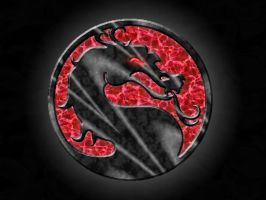 Mortal Kombat Dragon by ahwehota