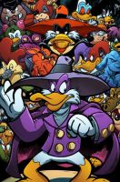 Darkwing Duck by angieness