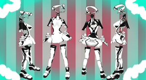 MMD Outfit 56 by MMD3DCGParts