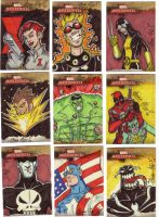 Marvel Masterpiece cards 1of3 by Gigatoast