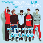 1000 DAYS OF SHINEE by theloojerr