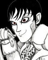 Barnabas Collins (Contest Entry) by geekgirl8