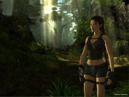 XNA Lara - Jungle by MariaTeodora