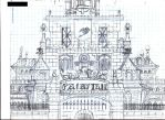 Fairy Tail Guild Hall by JGraphic1