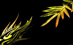EgFox TribalPlants Yellow HD by Eg-Art