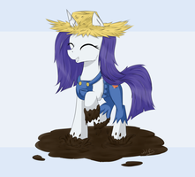 Dirty Rarity by maxca