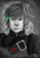 Speed Paint: Hiccup in B and W by reikohattori