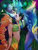 :DOTA: I'll show you magic by Blumestien