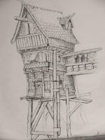 wooden house by what-about-dream