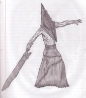 Pyramid Head by QuestionSleepZz