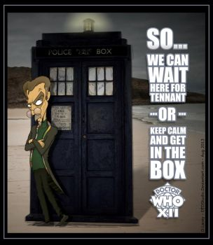 Dr Who XII GET IN THE BOX with Tash by dtdstudio