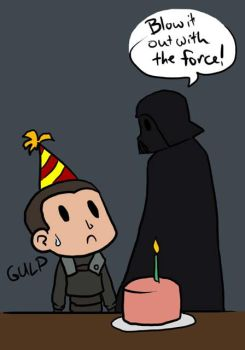 Birthday with the Force by Kaxen6