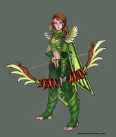 Windranger by Artist-LaiNa