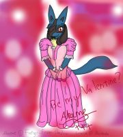 Akame's Valentine dress by Fangy-From-Shadow