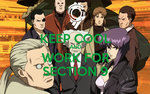 Keep Cool and Work For Section 9 by AVGNJr1985