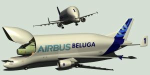 Airbus A300 600ST BELUGA by Emigepa