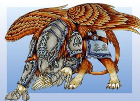 Imperial Griffin by FeatherGale