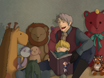 APH: Story Time by annakinz