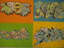 Various Graffiti by HaanaArt