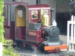 mini steam train from wales by thebluemaiden