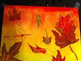 Fall Art Project by StitchedSmile1