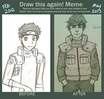 Draw it again! :D by beehivelikeanartist