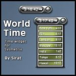 World Time widget by Sirat