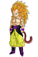Super Saiyan Berserker by DBZArtist94