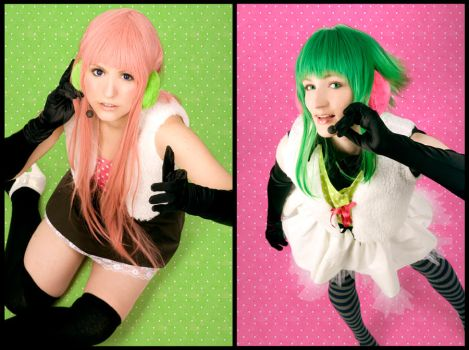 Vocaloid - Gumi and Luka by Amapolchen