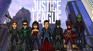 Justice League - First Formation (DCEU) by TheNightDestroyer