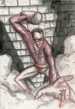 plastic man by richard-chin