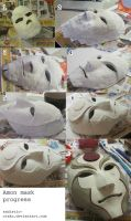 Amon mask progress by thegadgetfish