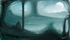 Environment Painting 04 by davepinsker