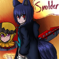 Smolder - Title Page by Shadow-Rukario