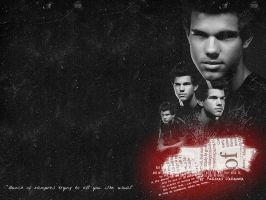 Taylor Lautner Wallpaper by Ingloss