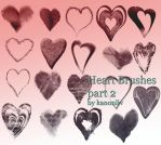 Heart Brushes pt.2 by kanonliv