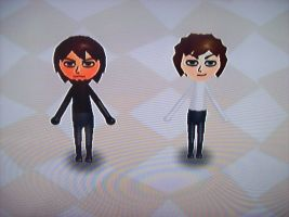 Adrian and Dimitri: Mii by freedomfighter12